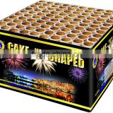 PSCI17 100s-cake-I-shaped 1.3G 0335 Display Cake Fireworks
