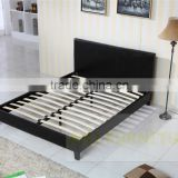 cheap Pu beds, cheap faux leather pu bed, simple cheap pvc beds Y05 doule size, single size, in white and black brown colour