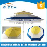 Polyester silver plastic coating fabric polyester sun umbrella