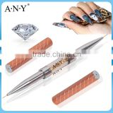 ANY Professional Nail Beauty Salon Using Rhinestone Double End Nail Art Brush Nail Brush Manufacturer