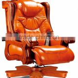 Antique royal King boss executive PU leather swivel chair with massage function (FOH-A01)