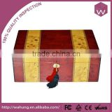 Top grade polishing wooden cigar packaging box for sale