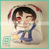 direct from factory nude anime back support love live! Nico Yazawa irregular shape plush cushion