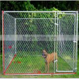 Factory Low price 50*50 mm galvanized chain link fence/chain link dog kennel lowes