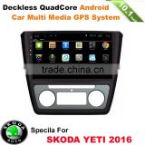 10inch android operating system car stereo mp3 MP4 dvd radio gps player for SKODA YETI with 3g wifi bt mirror link free igo map