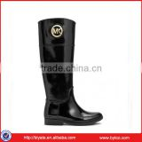 Ladies new product high quality duralbe rubber rain boots                                                                         Quality Choice