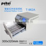T-962A desktop reflow oven, smt ,small PCB SMD benchtop mini motherboard wave soldering machine,taian,puhui