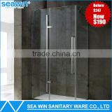 Luxury 304 Stainless Steel Complete Simple Shower Enclosure                                                                         Quality Choice