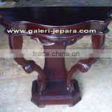 Antique Telephone Table - Victorian Wall Console Table Indonesia Furniture
