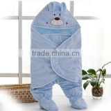 Animal Cartoon Newborn Baby Sleeping Bag Cute Blanket Swaddle Stroller Wrap