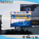 P8 advertising outdoor led panel video wall outdoor led billboard fixed installation in the wall