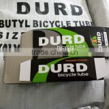 DURO bicycle inner tube 26x1.75 FV DV AV valve DURD butyl tube 20x1.75 16x1.75