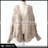 Wholesale Knitted Batwing Loose Cardigan