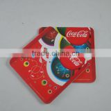 Promotional cardboard beer coasters for drink, cork coaster