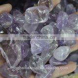 Natural Amethyst Tumbled Stone / Polished Amethyst Quartz Stone