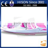 China manufactures 4 Stroke 6 seats speed boat for sale