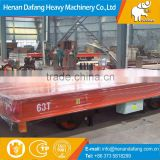 Easy Operated Rail Platform Transfer Car 20ton Powered By Conduct, Electric Flat Bed Rail Transfer Car Price