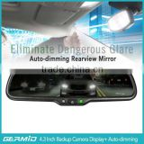 OEM Rearview Car Mirror Monitor W/ Replacement Mounting, OE Rear View / Backup Parking Assistant