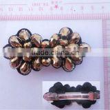 beautiful bead barrettes