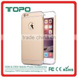 Factory Price 3 in 1 luxury detachable spraying frosted rose gold armor hard pc case for iphone 6 6s plus