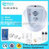 YL-X2 (4 In1) Multifuntional Oxygen Water Spray Vacuum Slimming Black-head Removal Device