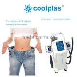 Reduce Cellulite Christmas Promotion Cryolipolysis Cool Shape Cryo Vacuum Machine For Fat Freeze Cellulite Reduction