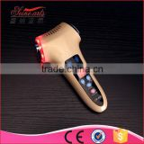 LCD rechargeable handheld ultrasonic hot and cold hammer colorful beauty instrument lw-029