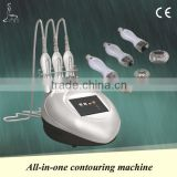 best anti cellulite massager,Rf+vacuum+blue laser,facial beauty&skin-tight&wrinkle removal,fat burning