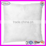 F014 Indoor Outdoor Polyester Fill Pillow Cushion Form White Cheap Wholesale Cushion Inserts