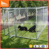 High quality metal low price or galvanized customizable supply chain link dog kennels
