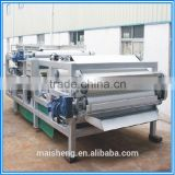 Stainless steel belt filter press for dewatering