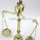 decorative brass weighing scale, indian brass scales