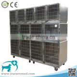 Factory price wholesale veterinary stainless steel cage