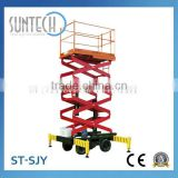 SUNTECH Good Quality Scissor Lift Table with Hydraulic Cylinder
