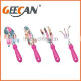 Garden Tools, shovel,rake,fork with floral printing for kids