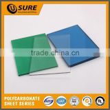 2.5mm thick u type hollow plate three yuan direct manufacturers/polycarbonate hollow sheet/polycarbonate solid sheet