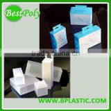 custom made plastic storage boxes with logo for electronic