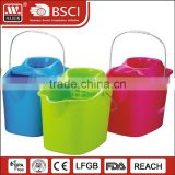 perfect easy mop double device mini mop bucket with wringer H009