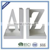 New Design Poly Resin A,Z Letter Bookend Figurine