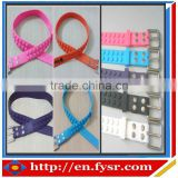 fashion colorful Golf silicone belt with dots