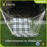 Hot Sale Egg Wicker / Rattan Hanging Patio Swing Chair Bali Rattan Furniture Egg Hanging Chair Patio Swings