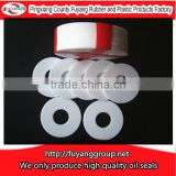 white DIN nylon washers