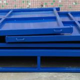 Heavy Duty Folding Steel Pallet Box For Warehouse Storage