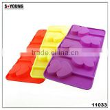 11033 Silicone Candy Lollipop Molds with Sticks
