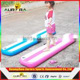 Factory Price Inflatable Air Tumble Track Widely Used Gymnastic Gir Tumble Mat DWF Inflatable Air Yoga Track