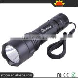 PowerLight 039D Q5 LED 650 Lumens 3 Mode Tail Switch LED Flashligth Torch