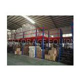 Multi - tier Steel Floor Deck Platform Steel racking systems 500 - 1000KG for Factory
