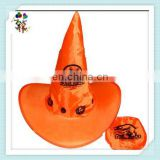 Cheap Colors Mutifunctional Foldable Halloween Witch Hats HPC-0286