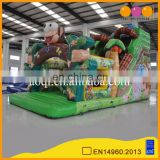 kids sliding toys custom dry giant monkey inflatable stair slide for sale
