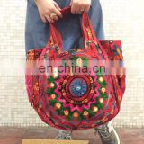 Indian New Handbag Tote Bag embroidered Hmong Bag Purse large Embroidered Kutch Style Shoulder Bag Tribal ethnic wholesale